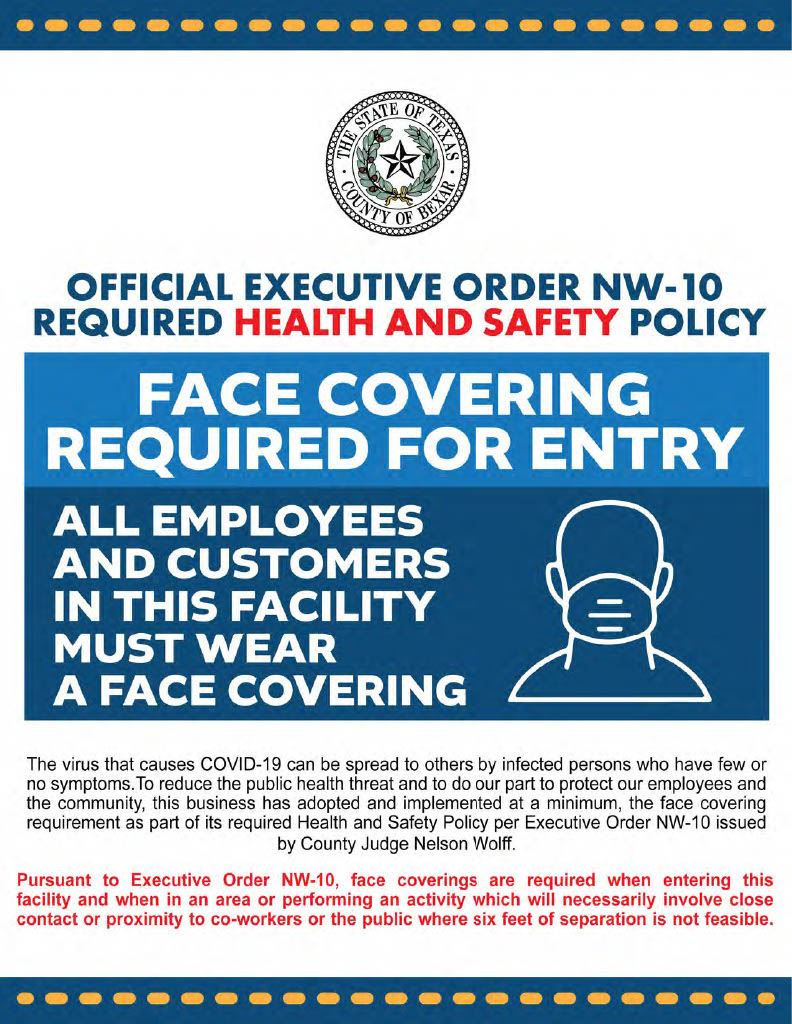 Facial Covering Requirement Poster1024_1